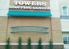 We made this steel artwork for Towers Mall.